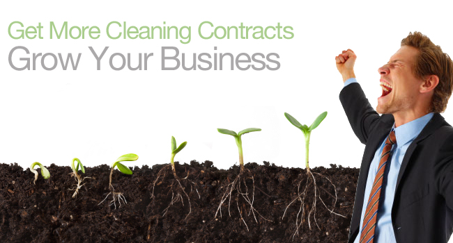Get Cleaning Contracts. Grow your Business