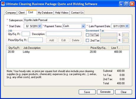 Janitorial Bidding Software – Automate and Maximize Profit.