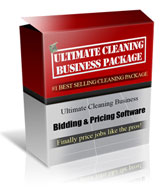 Janitorial bidding software